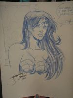 DragonCon sketch Wonder Woman by thejeremydale