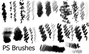 PS Brushes - 4 by Dark-Zeblock