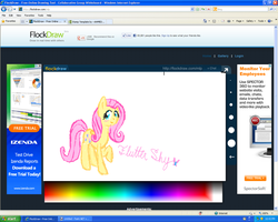 FlutterShy on FlockDraw by Honey-PawStep