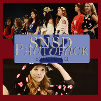 Photopack SNSD 018 by DiamondPhotopacks