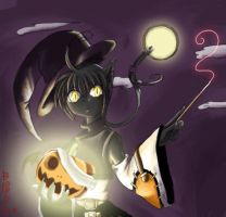 DA Buddy the cat wicth by bloodink6