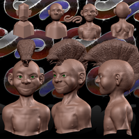 Zbrush Practice - Boy 1 by SEspider