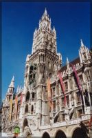 City Hall Munich2 by Simandi