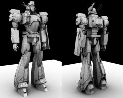 Patlabor Clay+Wires by IndigoX3