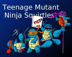Teenage Mutant Ninja Squirtles by TheLifeOfGaston