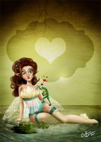 The Fairy and the Frog by Queen-Uriel