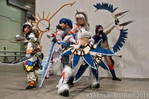Monster Hunter ragazze by CryChan87