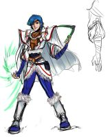Phantasy Star 4 Fangame - Kyra updated concept by ultema