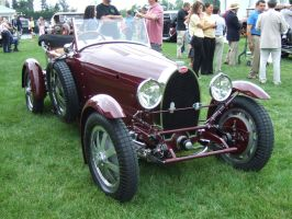 1927 Bugatti Type 43 Grand Sport by Aya-Wavedancer