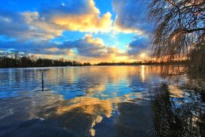 beautiful nature at Lake Tegel 1 by MT-Photografien