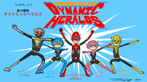 Dynamic Heralds - Pen Ward Style by ryuuseipro