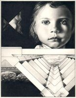 Girl and Architecture by joea