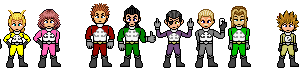 OrganizationXIII Power Rangers by FnrrfYgmSchnish