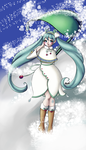 Snow Miku 2015 by pristinepanda