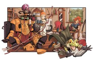 Chrono Trigger Restoration by Holly-the-Laing
