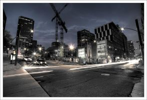 Montreal at Night 57 by Pathethic