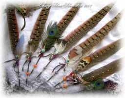 Pheasant Feather Quill Pens by ChaeyAhne