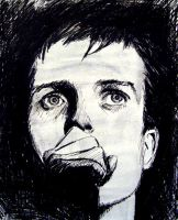 Ian Curtis by eexell