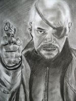 The Avengers: Nick Fury by Sasoriakasuna1