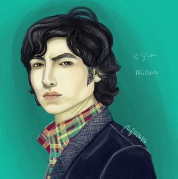 Ezra Miller by terin814