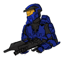 Caboose Doodle by pfennings