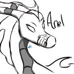Anel - Quick sketch by dragonneGlacia