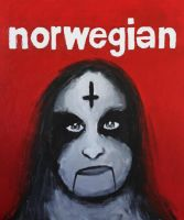 Norwegian Black Metal by VESAPELTONEN