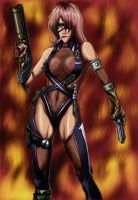 full_armored girl color by ElZeviour