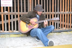 Zach and his Guitar by krissybdesignsstock