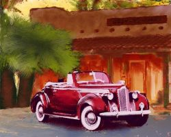 packard convertible by rapidograph