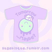 Vector - Tomorrow Maybe Tshirt by firstfear
