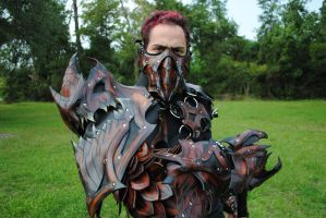 Dragon Slayer Unmasked by Epic-Leather