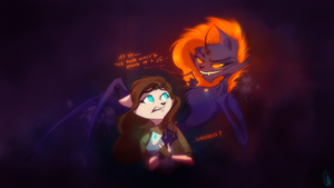 ScribbleNetty VS NightmareNetty by ScribbleNetty