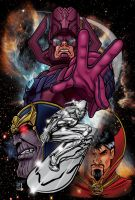 Cosmic forces by tattooryan