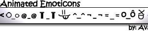 11 Emoticons MYstyle no Smiles by Avael