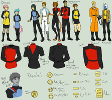 USS Legacy Uniform Concept by SinisterlySweet