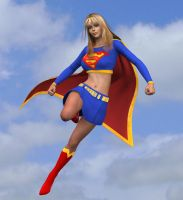 Supergirl has arrived by qaz-art