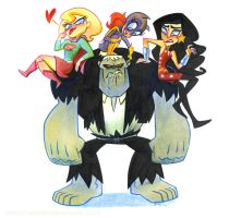 Solomon Grundy No Fight Girls by potatofarmgirl