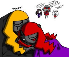 SHHHH THEY SLEEPING by TaiitheDecepticaon