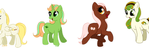 Free Pony Adoptables by C-Puff