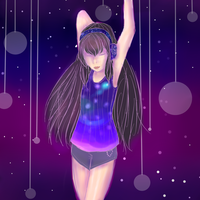 Dance to the Music of the Galaxy by Monochrome-Colors