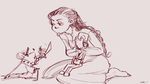 The Nutcracker and the mouse king doodle by xanticheese