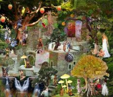 A very magical fairy world by mrsmodernmonalisa
