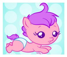 Little filly by uppuN