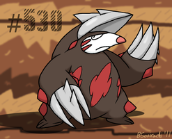 Holy moley it's Excadrill by Sorachi-Jirachi