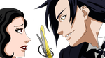 Selena Vs Claude by Wolven-Sorceress