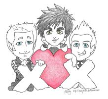 Green Day Valentines 2013 by kelly42fox