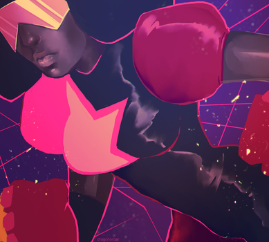 STEVEN UNIVERSE: GARNET by Dragons-Roar