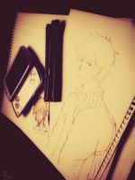 Playing or Drawing, Time to do something. by JCLina