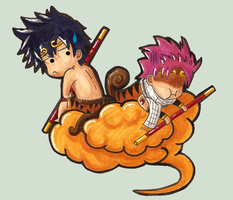 Fairy Tail Monkykings by darlingchan